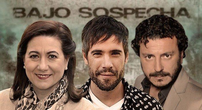 Unax Ugalde, Luisa Martín y Marcial Álvarez fichan por la segunda temporada de Bajo sospecha