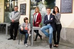 José Mota, Malena Alterio, Norma Ruiz y Paco Tous, protagonistas de la comedia El hombre de tu vida