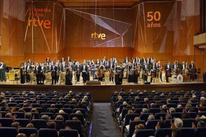 La Orquesta RTVE recibe el Premio Especial de la Academia de Televisión en su 50 aniversario
