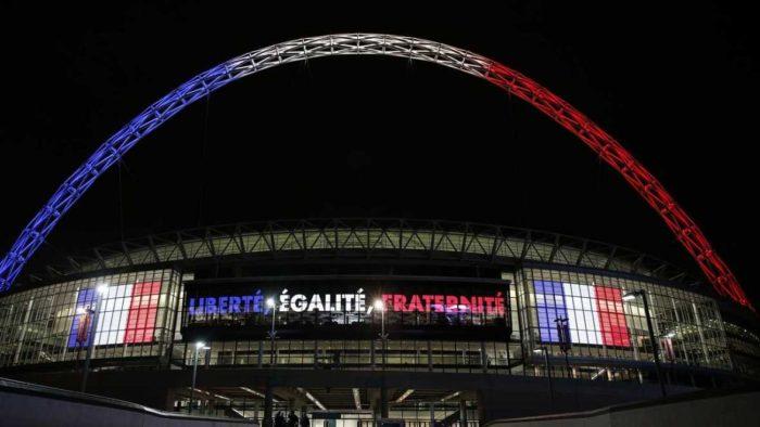 La 1 ofrece esta noche el partido amistoso Inglaterra-Francia