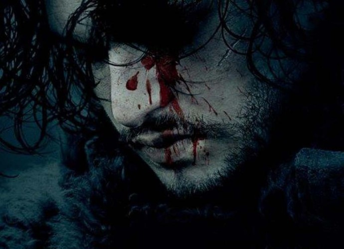 Jon Snow ensangrentado en un póster de la sexta temporada de Juego de tronos