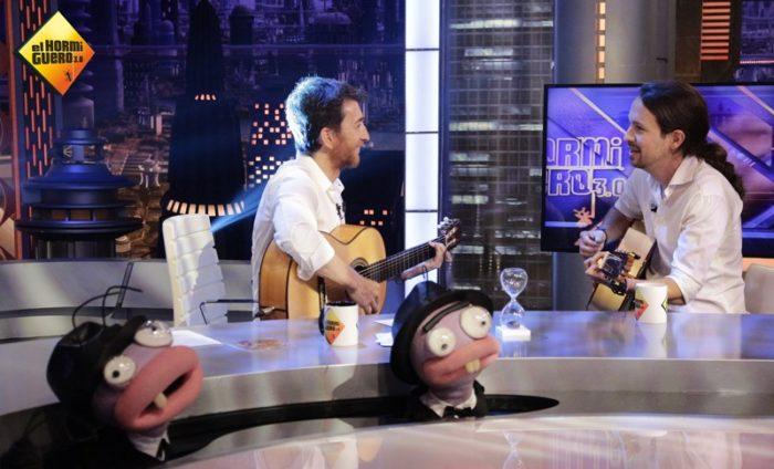 Excelente noche para Antena 3 con el Real Madrid y con Pablo Iglesias en El hormiguero