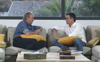 En la tuya o en la mía sigue fuerte con Pedro Sánchez; Top chef se mantiene y B&b regresa a la baja