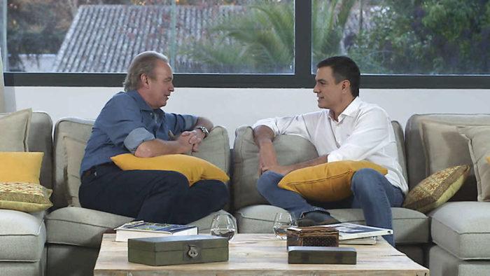 En la tuya o en la mía sigue muy fuerte con Pedro Sánchez
