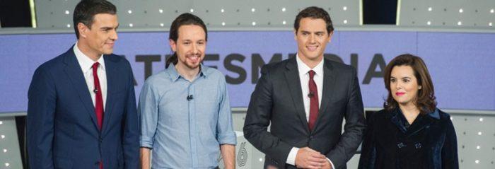 7D: El debate decisivo se convierte en lo más visto en televisión en 2015