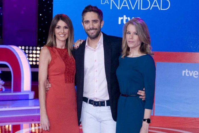Ana Belén Roy y Roberto Leal retransmitirán el Sorteo de Navidad mañana en La 1