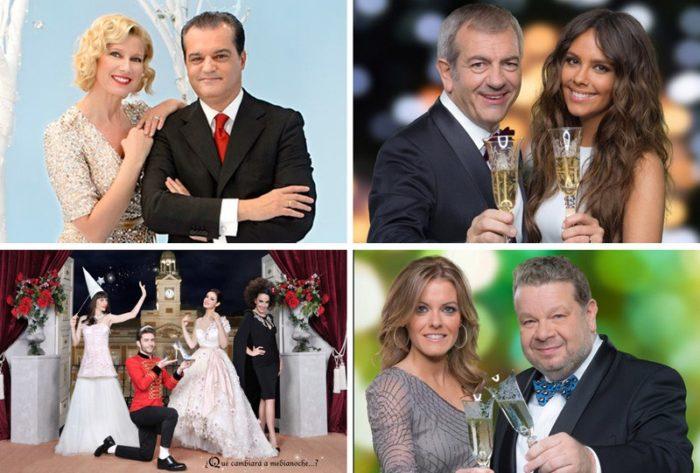 Estos son los rostros televisivos que despedirán el año 2015 esta noche