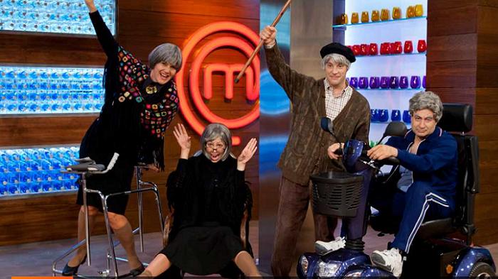 Los integrantes del jurado de MasterChef se convierten en abuelos