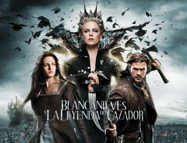 Blancanieves y la leyenda del cazador lidera la noche de Reyes en Antena 3