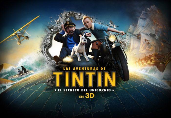 Las aventuras de Tintín lidera sobre Star Wars: el imperio contraataca y Sálvame deluxe