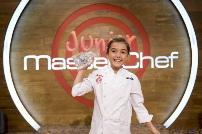 María gana la tercera edición de MasterChef Junior