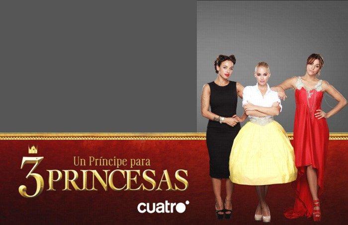 Un príncipe para tres princesas se estrena el lunes en Cuatro