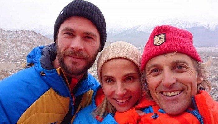 Elsa Pataky ya está en el Himalaya