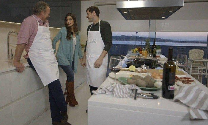 Iker Casillas, visita a Bertín Osborne