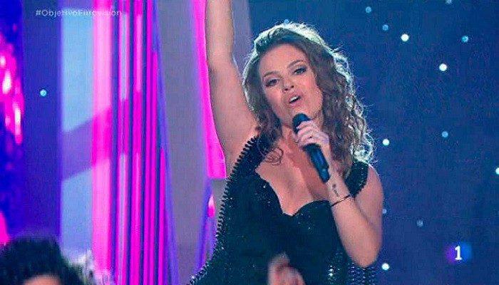 María Isabel se despide de Eurovisión