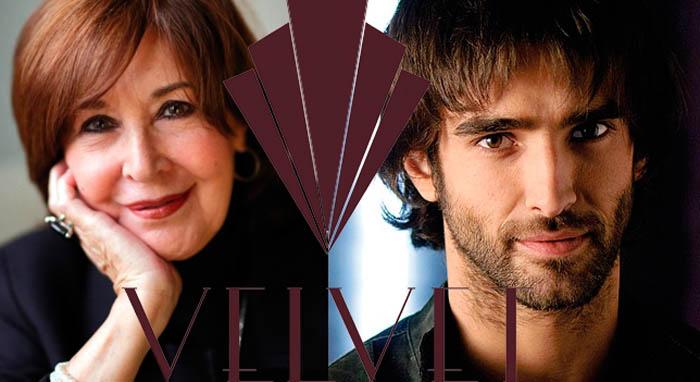 Concha Velasco y Aitor Luna estarán en la cuarta temporada de Velvet