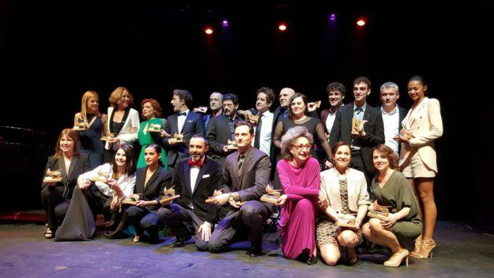 Ganadores de la XXV edición de los Premios Unión de Actores y Actrices