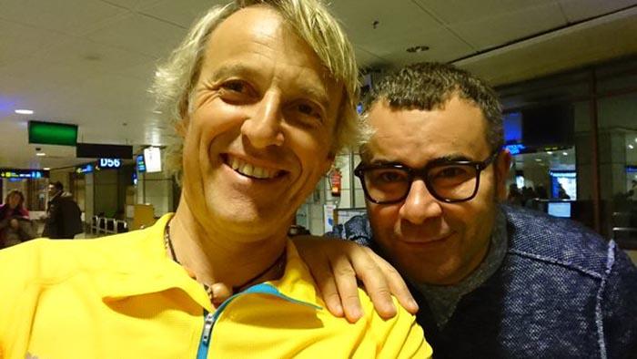 Jorge Javier Vázquez y Jesús Calleja parten rumbo a la Polinesia Francesa