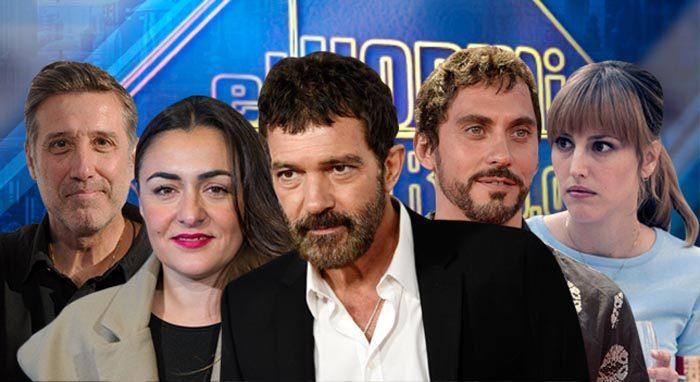 Paco León y Natalia de Molina, Emilio Aragón, Antonio Banderas y Candela Peña visitan El Hormiguero 3.0