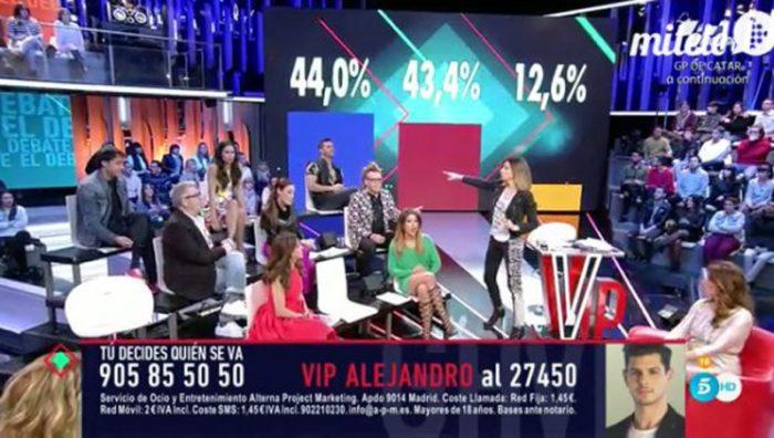 Día del Padre, la novia de Carlos Lozano y porcentajes ciegos en Gran Hermano VIP 4: el debate
