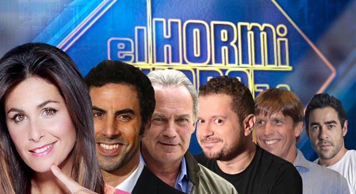 Pablo Chiapella, Bertín Osborne y Sacha Baron Cohen en El Hormiguero 3.0