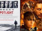 Atresmedia TV estrenará Spotlight y Mad Max: furia en la carretera