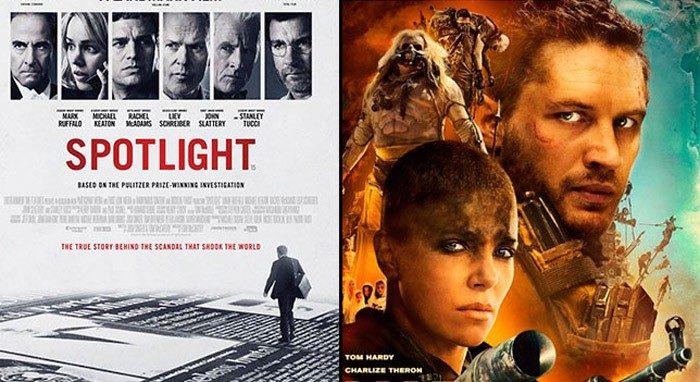 Atresmedia TV estrenará Spotlight y Mad Max