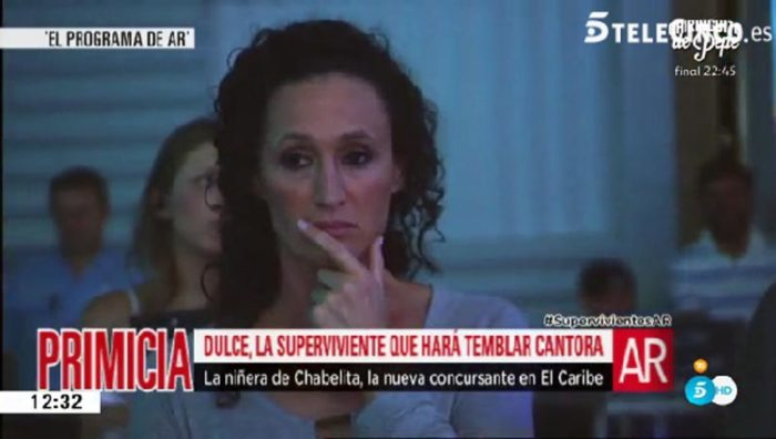 Dulce finalmente sí participará en Supervivientes 2016