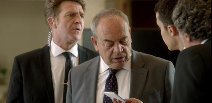 Tito Valverde y Juanjo Artero aparecen en El Príncipe como el comisario Castilla y Charlie