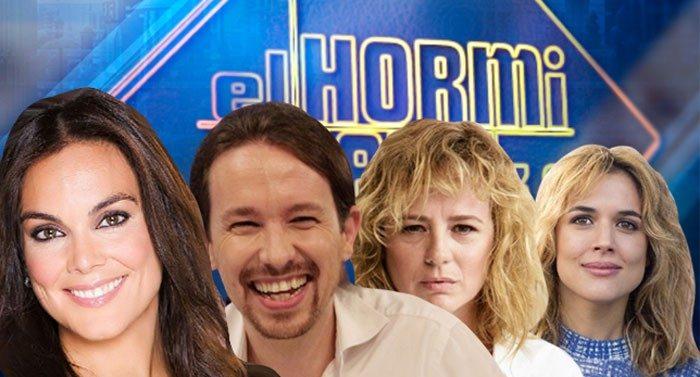 Pablo Iglesias, Emma Suárez, Adriana Ugarte y Mónica Carrillo visitan El Hormiguero 3.0