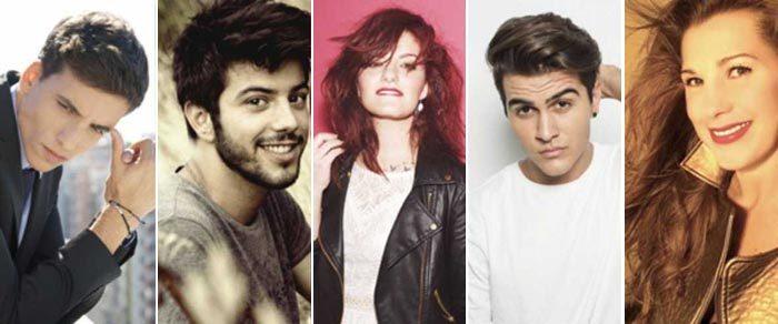 Xuso Jones, Salvador Beltrán, Electric Nana, Maverick y Coral Segovia, jurado en Eurovisión 2016
