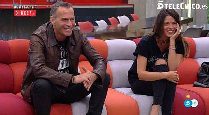 Laura Matamoros y Carlos Lozano se quedan solos en Gran Hermano VIP 4