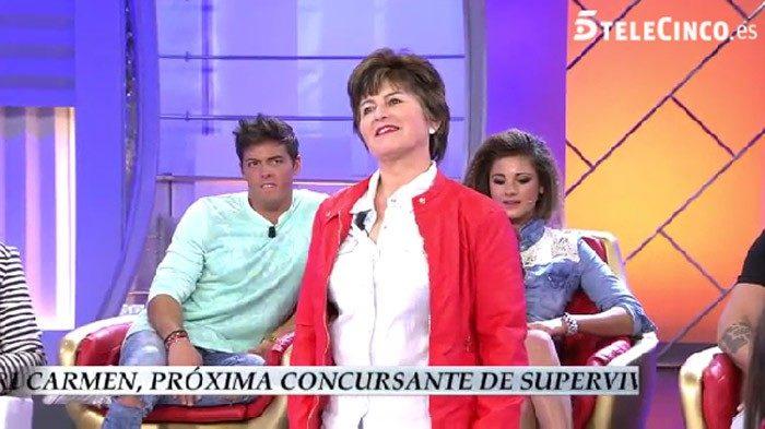 Mari Carmen, la novena confirmada de Supervivientes 2016