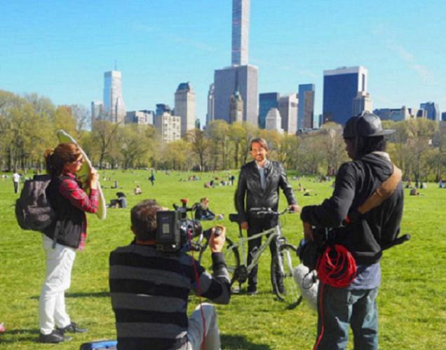 Màxim Huerta visita Nueva York
