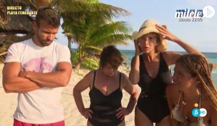 Cristian y Mari Carmen expulsados y Mario, Yola, Víctor y Mila nominados en Supervivientes 2016