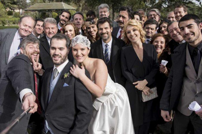 Los funcionarios de El Ministerio del Tiempo se van de boda este lunes