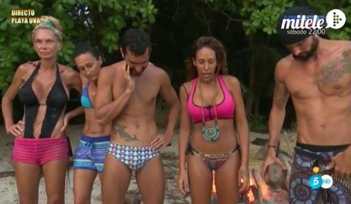 Mila Ximénez y Carla felices; Dulce habla de Pantoja y Suso sufre una broma en Supervivientes 2016