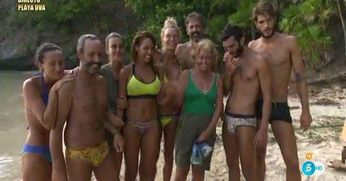 Llega la unificación a Supervivientes 2016 con Steisy y Jorge encantados y Carla conciliadora con Dulce