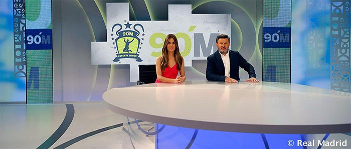 Realmadrid TV estrena hoy 90 minuti con Miki Nadal al frente