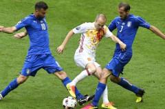 Casi 8,5 millones de espectadores para el Italia-España en la Eurocopa 2016