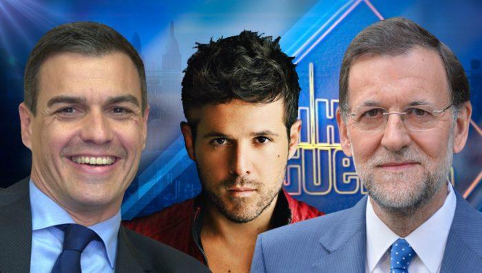 Pedro Sánchez, Mariano Rajoy y Pablo López visitan El Hormiguero 3.0