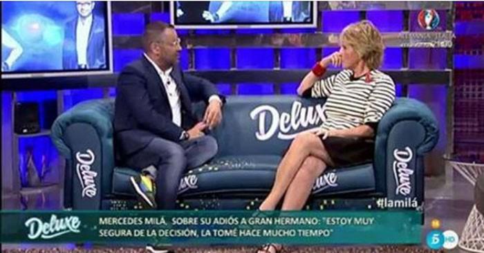 Mercedes Milá pidió un poquito de amor e ilusión para continuar en Gran Hermano