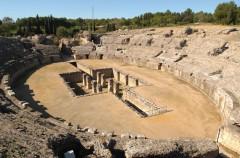 Juego de tronos elige el anfiteatro de Itálica para rodar una batalla en su séptima temporada