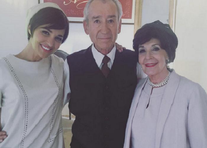 El selfie de Paula Echevarría con Concha Velasco