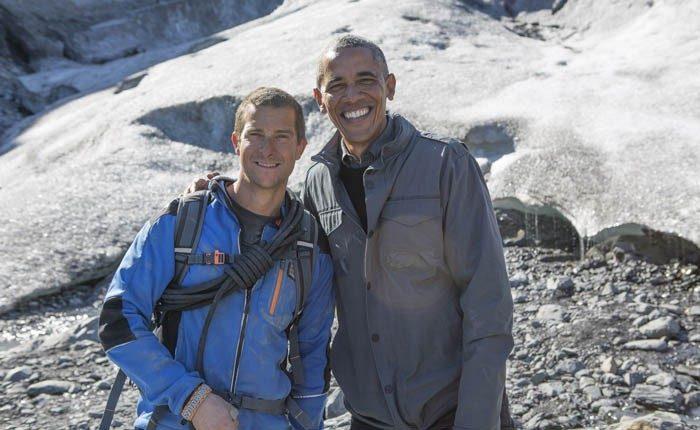 Discovery MAX emite el domingo Famosos en peligro con Bear Grylls: Barack Obama