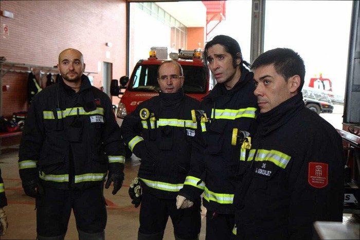 Mario Vaquerizo, bombero y Romay, esteticista, esta noche en Trabajo temporal