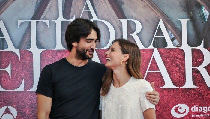 Antena 3 presenta La Catedral del Mar con Aitor Luna, Michelle Jenner y Silvia Abascal