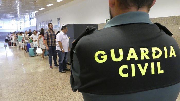 Discovery MAX ya graba Control de fronteras: España