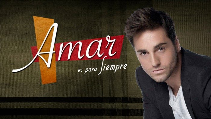 Bustamante pone voz al tema principal de Amar es para siempre en su nueva tempora