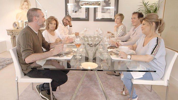 Hábitos alimentarios y fama, los temas en el estreno de Las Campos
